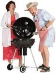 Fun activities for grandparents and their grandchildren can include a family BBQ