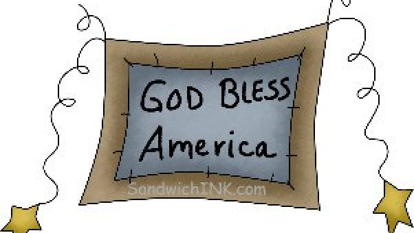 There are many inspirational Bible verses to remind us to pray for our country as this cute fourth of July clip art reminds us