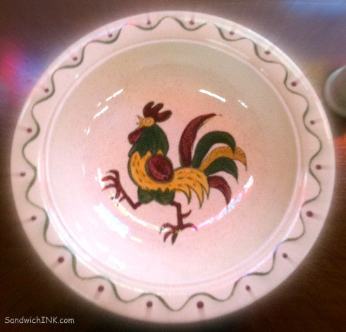 I loved the rooster dishes and plates I found at my parents favorite antique store - brought back several sweet family memories