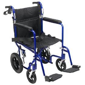 Lightweight Medline Transport Travel Wheelchairs