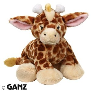 Looking for where to buy Webkinz online - this cute Webkinz giraffe was just released and available from Amazon by clicking on this picture