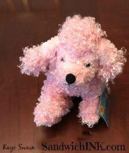 Pink Poodle Webkinz Stuffed Animals from the older grandkids for the younger grandchildren