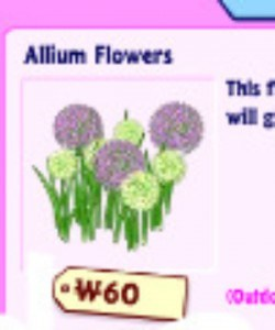 These flowers for your Webkinz stuffed animals are cute but dont yield crops