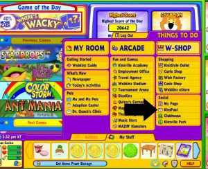 When enjoying Webkinz Stuffed and Virtual Animals online - and you want to send Webkinz mail to a grandchild - click on KinzPost