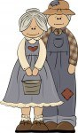 Heres some cute country grandparents clipart to use as National Grandparents Day clipart