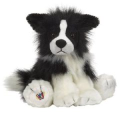 My border collie granddog looks a lot like these cute Webkinz border collie stuffed animals