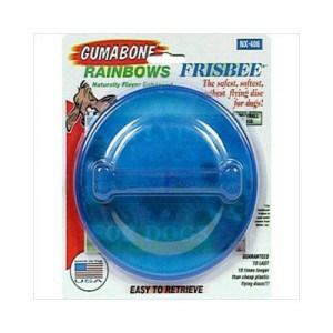 The nylabone flexible dog frisbee makes great air dog exercise toys