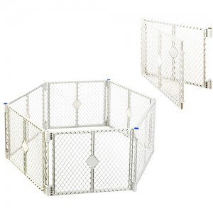 A granny nanny tip is to use a gate like the superyard xt for the small grandkids and it works great for a granddog too