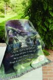 Thomas Kinkade Tapestry Throw God of Hope