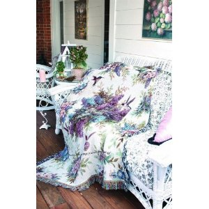 Whisper Wings Tapestry Throws with Comforting Bible Verses 2