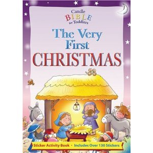 The Very First Christmas - a sticker activity book for fun holiday activities for grandparents and their young grandchildren