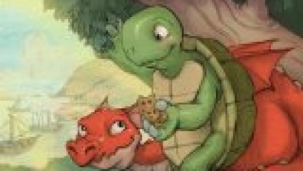 The Dragon and the Turtle by Donita K Paul is one of those sweet Christian stories for children with a positive moral and encouraging Bible verses at the end