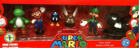 great wii games for seniors and boomers can include super mario brothers - a blast from the past with the grandkids of the present
