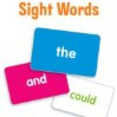 have fun with phonics activities for grandparents and grandchildren using these sight words flashcards for the grandkids sight word list