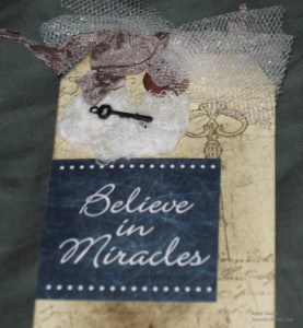 Cindy Adkins of Whimsical Musings made this delightful gift for this baby boomer grandmother and I LOVE it