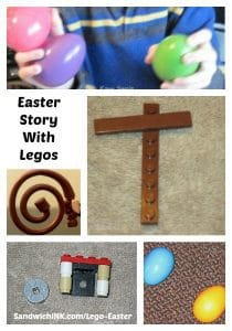 Easter Story with Legos Activities Grandchildren Grandparents