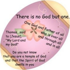 For Easter - Besides Resurrection Easter Eggs - Easter eggs are great way to illustrate the trinity