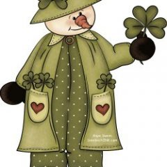 The cute red hearts for Rednesday and the St Patricks Day shamrock make this great clipart for SandwichINK to say HELLO