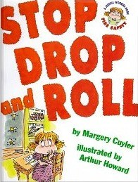 Child Safety Tips for Grandparents and their grandchildren focused on Stop Drop and Roll