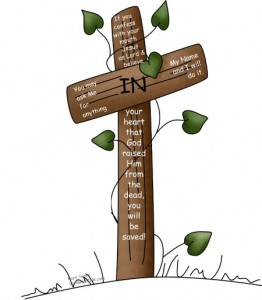 Love this Lent 2011 cross clipart with encouraging Bible Verses for kids and their families from my grandkids and our family