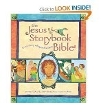 The Jesus Storybook Bible with Sally Lloyd-Jones author and artwork by Jago has been a real blessing to all my young grandchildren