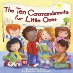 A cute book for teaching children and grand kids the ten commandments