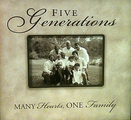 A four generations or five generation picture frame makes a delightful gift for the elderly parents in the multigenerational Sandwich Generation