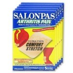 My senior mom loves salonpas pain relief patches for arthritis - especially after gardening