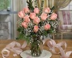 These lovely roses to say HAPPY BIRTHDAY to PINK SATURDAY also make great gifts for the long distance elderly parents