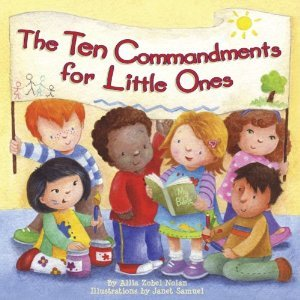 This Ten Commandments book for children is great for grandparents and their grandchildren