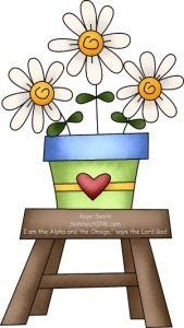 This cute happy holidays country clipart is here to say HAPPY MOTHERS DAY - clip art