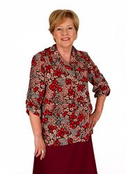 Adaptive blouses for wheelchair patients and easier dressing for boomers and seniors