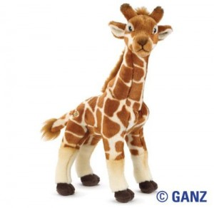 Webkinz stuffed animals like this cute Webkinz giraffe are a lot of fun for the grandkids and its easy to buy webkinz like this online - just click here
