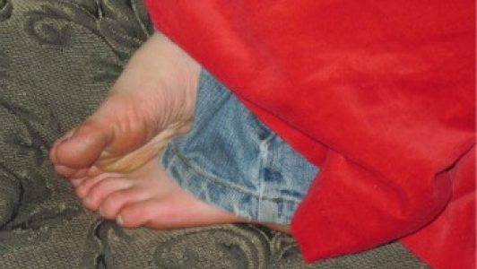 Awww - blue jeans - dress up - and nap - a perfect combo for a sweet grandchild of this Sandwich Generation granny nanny