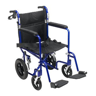 Lightweight transport travel wheelchairs are a big help for the busy Sandwich Generation