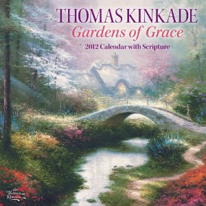 Love to buy Painter of Light Thomas Kinkade 2012 calendar for Christmas gifts for the elderly parents and relatives
