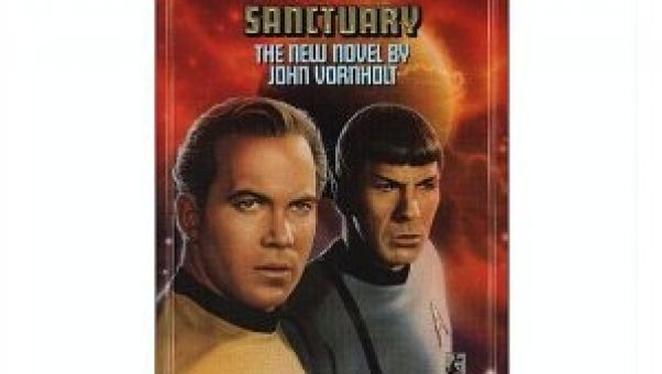 Star Trek - Sanctuary - was one of the many novels this baby boomer granny nanny loved to read before the grandkids kept her so wonderfully busy