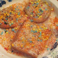 Woo Hoo Grandma - we can never have too much sugar cookie icing - glitter - and fun