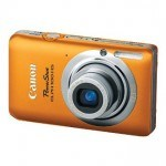 Too cool - autumn colors with this Canon PowerShot ELPH 100 HS 12 MP CMOS Digital Camera with 4X Optical Zoom - Orange