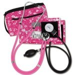 Yes Pink Saturday fans - there are even pink things to be found in medical equipment - like this traditional blood pressure monitor kit