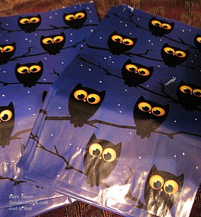 As a Christian I look for halloween ideas crafts and treats from a positive perspective - like cute owls