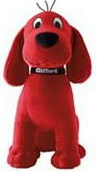 Clifford the Big Red Dog plush toy are fun gifts for grandkids