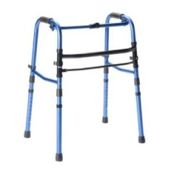 Our Sandwich Generation family loves the Carex Explorer Folding Lightweight Travel Walker for elderly seniors