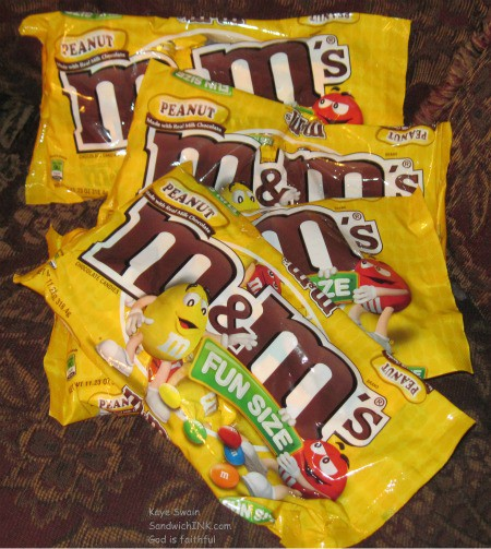 The Sandwich Generation granny nanny does love M&Ms