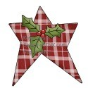 A cute country Christmas star clipart means holiday cheer and Christian words of encouragement and inspiration for those in AND out of the Sandwich Generation