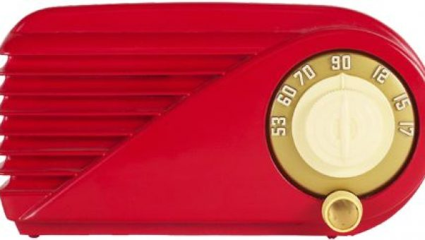 This cool retro red radio does not have half the stations sirius satellite radio provides on the iphone
