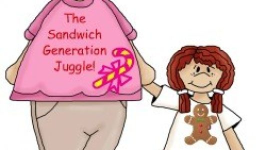 The Sandwich Generation granny nanny has been on the run this week with extra senior and grandkid health needs