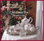 The Sandwich Generation granny nanny loves the Rose Chintz Cottage and their Christmas Tea