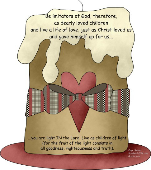 The Sandwich Generation granny nanny loves using cute country clipart to illustrate encouraging Bible memory verses for children and grand kids