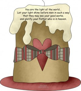 The Sandwich Generation granny nanny loves using cute country clipart to share encouraging Bible memory verses for kids and grand children